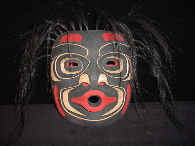 TH: Dzunukwa Mask, Red Cedar