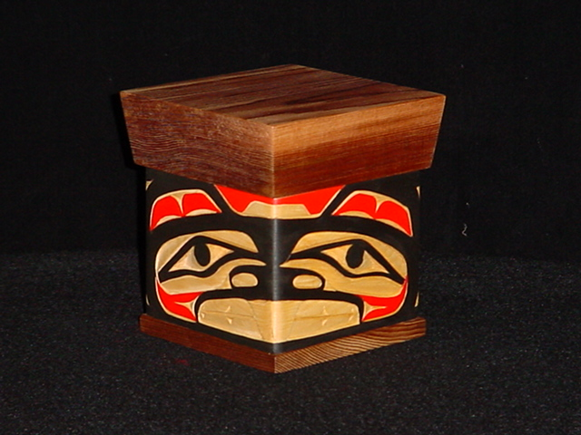 JC: Beaver Bentwood Box