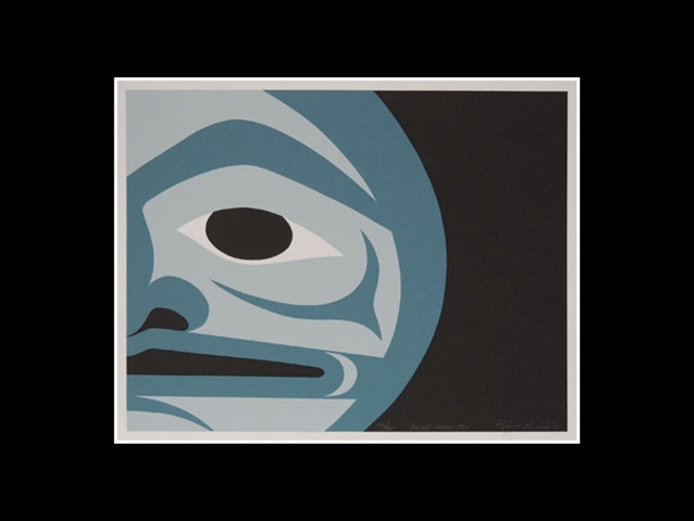 MJ: Blue Moon Too, serigraph