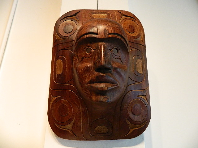 IC: Moon Mask, red cedar
