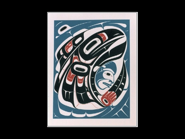 EA: Raven and Man, serigraph