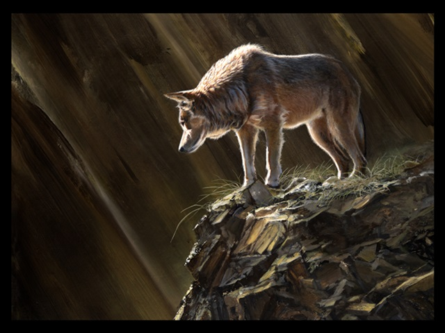 IB: Lone Wolf, giclee limited edition print