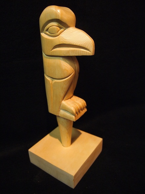 Raven - Talking stick