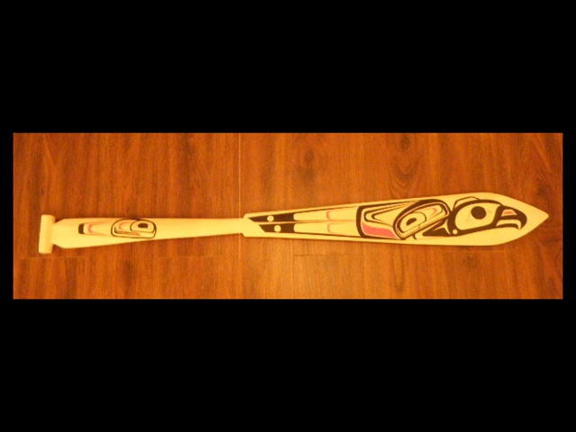 * Eagle Paddle, yellow cedar, 5' length