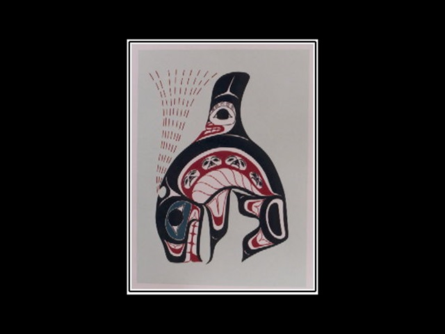HR: Spirit of Killerwhale, serigraph