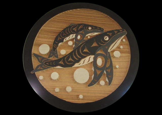 Humpbacks, red cedar, 1' diameter