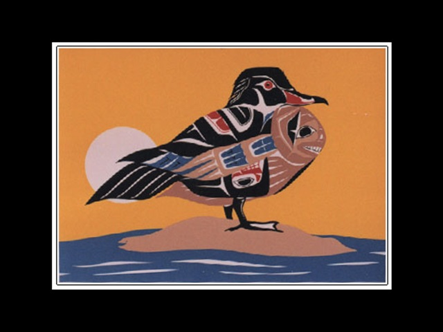 RS: Canadian Wood Duck, serigraph