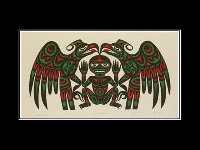 JW: Salish Welcome, serigraph