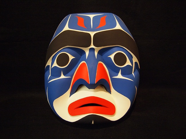 JJ: Bella Coola Moon Mask