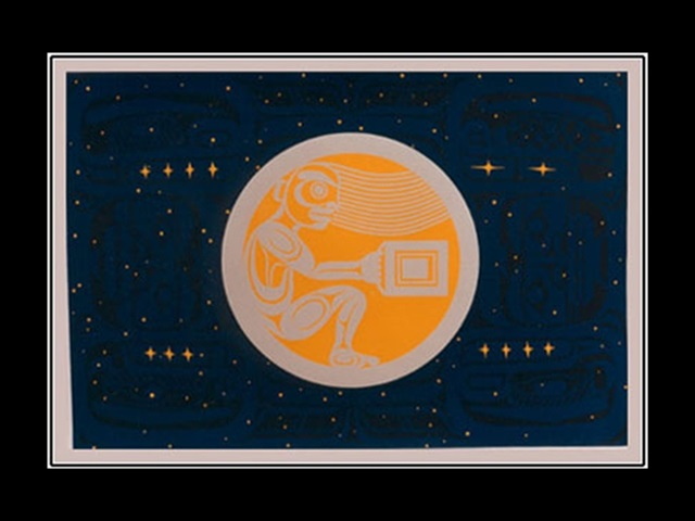 WW: The Boy in the Moon, serigraph