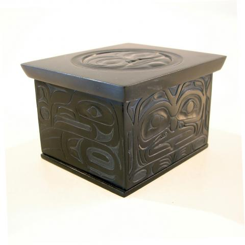 Argillite Box - Click Image to Close