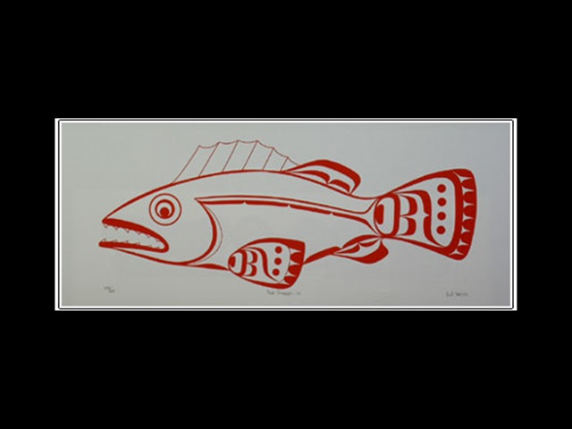 CH: Red Snapper, serigraph
